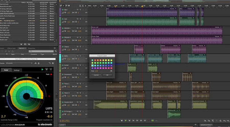 chức năng Adobe Audition