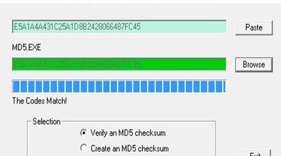 nhập mã MD5