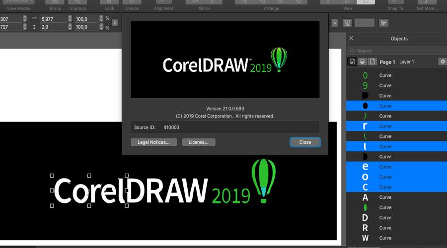 hình ảnh CorelDraw