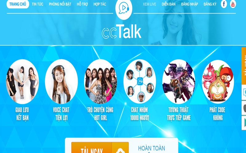 Download CCtalk phần mềm Livestream miễn phí và tốt nhất