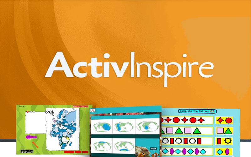 ActivInspire Ứng dụng hỗ trợ thiết kế và soạn bài giảng