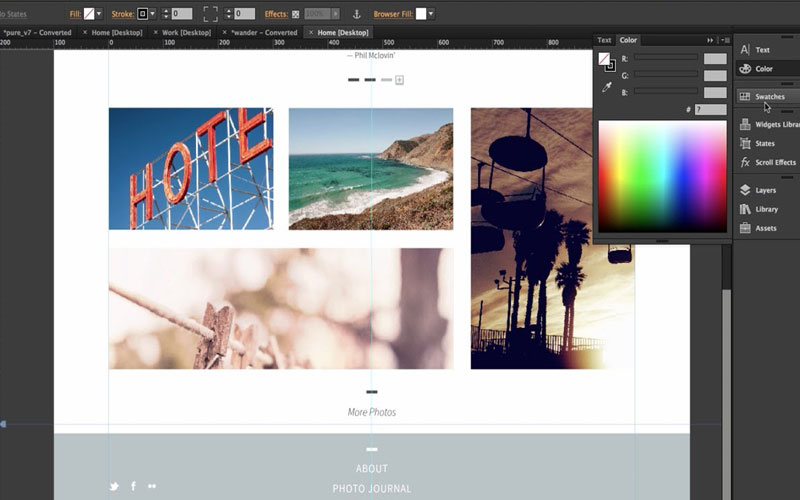 giao-dien-adobe-muse