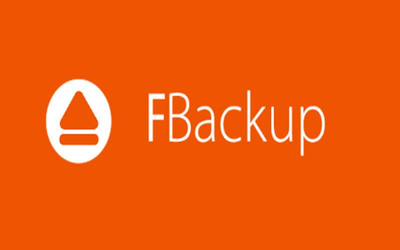 Download FBackup phần mềm hỗ trợ sao lưu dữ liệu máy tính